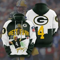 NFL Green Bay Packers 3D Hoodie V12