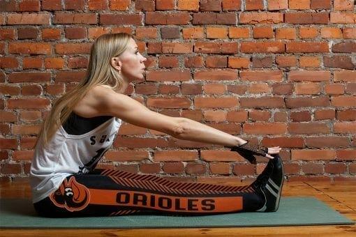 MLB Baltimore Orioles Leggings V1