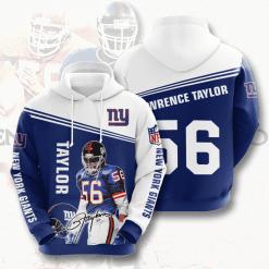 NFL New York Giants 3D Hoodie V12