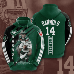 NFL New York Jets 3D Hoodie V12