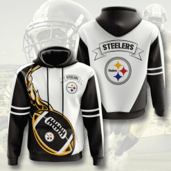 NFL Pittsburgh Steelers 3D Hoodie V12