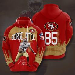 NFL San Francisco 49ers 3D Hoodie V12