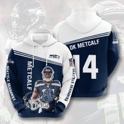 NFL Seattle Seahawks 3D Hoodie V12