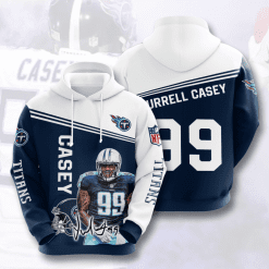 NFL Tennessee Titans 3D Hoodie V12