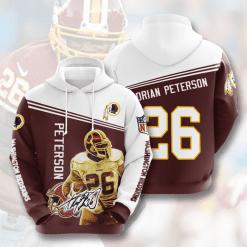 NFL Washington Redskins 3D Hoodie V12