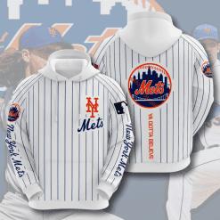 MLB New York Mets 3D Hoodie V12