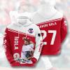 MLB Philadelphia Phillies 3D Hoodie V13