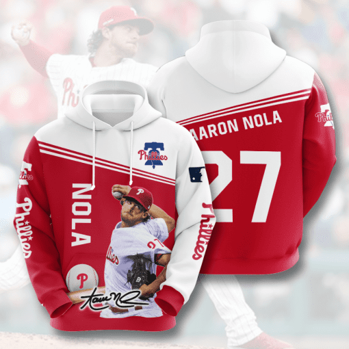 MLB Philadelphia Phillies 3D Hoodie V12