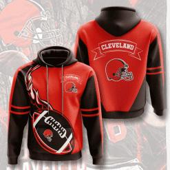 NFL Cleveland Browns 3D Hoodie V12