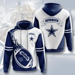 NFL Dallas Cowboys 3D Hoodie V12