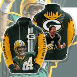 NFL Green Bay Packers 3D Hoodie V13