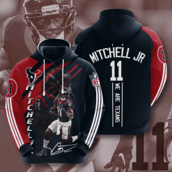 NFL Houston Texans 3D Hoodie V13