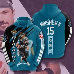 NFL Jacksonville Jaguars 3D Hoodie V13