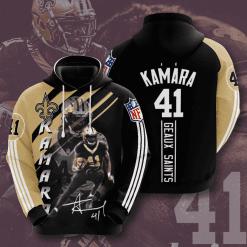 NFL New Orleans Saints 3D Hoodie V13