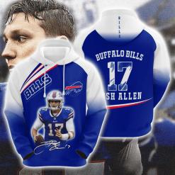 NFL Buffalo Bills 3D Hoodie V13