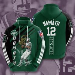 NFL New York Jets 3D Hoodie V13