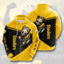 NFL Pittsburgh Steelers 3D Hoodie V13