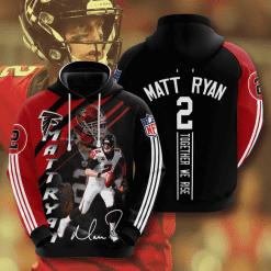 NFL Atlanta Falcons 3D Hoodie V13
