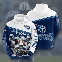 NFL Tennessee Titans 3D Hoodie V13