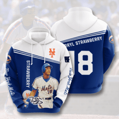 MLB New York Mets 3D Hoodie V13
