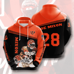 NFL Cincinnati Bengals 3D Hoodie V13