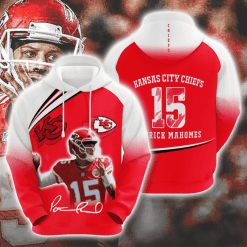 NFL Kansas City Chiefs 3D Hoodie V14