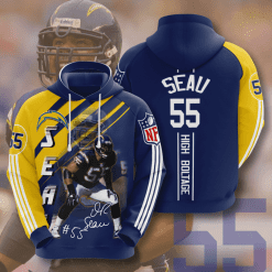NFL Los Angeles Chargers 3D Hoodie V14