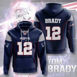 NFL New England Patriots 3D Hoodie V14
