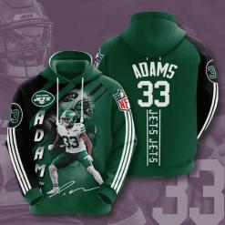 NFL New York Jets 3D Hoodie V14