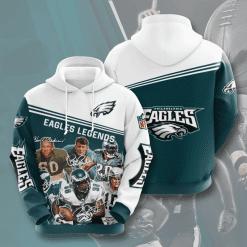 NFL Philadelphia Eagles 3D Hoodie V14