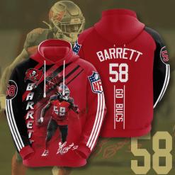 NFL Tampa Bay Buccaneers 3D Hoodie V14