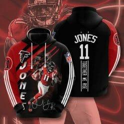 NFL Chicago Bears 3D Hoodie V14
