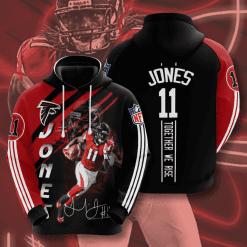 NFL Atlanta Falcons 3D Hoodie V14