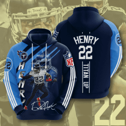 NFL Tennessee Titans 3D Hoodie V14