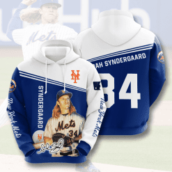 MLB New York Mets 3D Hoodie V14