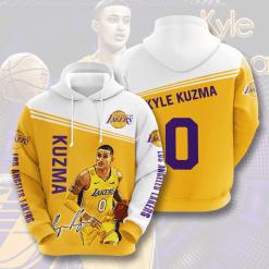 NBA Los Angeles Lakers 3D Hoodie V14