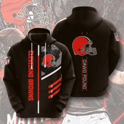 NFL Cleveland Browns 3D Hoodie V14