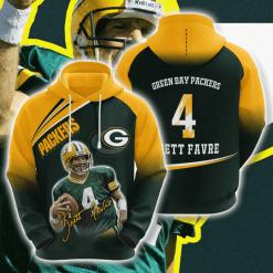NFL Green Bay Packers 3D Hoodie V14