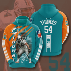 NFL Miami Dolphins 3D Hoodie V15