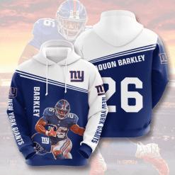 NFL New York Giants 3D Hoodie V15