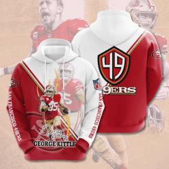 NFL San Francisco 49ers 3D Hoodie V15
