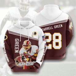 NFL Washington Redskins 3D Hoodie V15