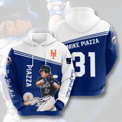 MLB New York Mets 3D Hoodie V15
