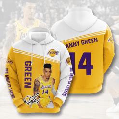NBA Los Angeles Lakers 3D Hoodie V15