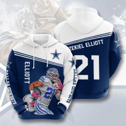 NFL Dallas Cowboys 3D Hoodie V15