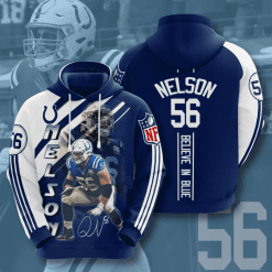 NFL Indianapolis Colts 3D Hoodie V15