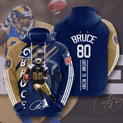 NFL Los Angeles Rams 3D Hoodie V16