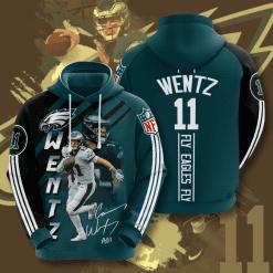NFL Philadelphia Eagles 3D Hoodie V16