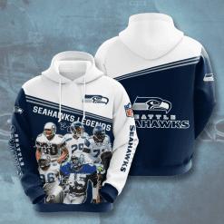 NFL Seattle Seahawks 3D Hoodie V16