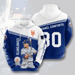 MLB New York Mets 3D Hoodie V16